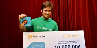 AidHound venceu prémio Montepio Social Tech