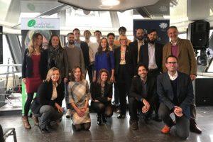 Foto do grupo dos finalistas