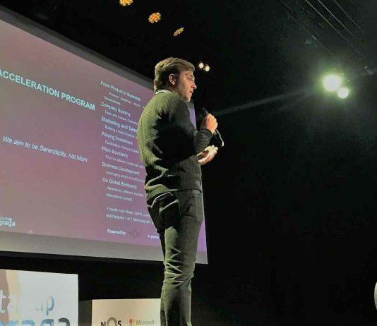 Apresentação dos finalistas ao Programa de Aceleração Startup Braga 2018
