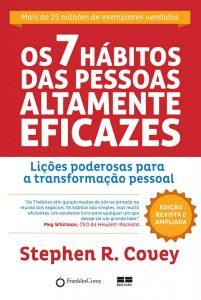 capa do livro Os 7 hábitos das pessoas altamente eficazes de Stephen Covey
