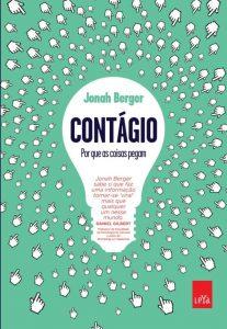 Capa do livro Contágio de Jonah Berger