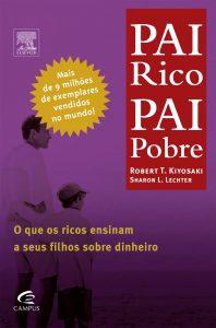 capa do livro Pai Rico, Pai Pobre de Robert Kiyosaki