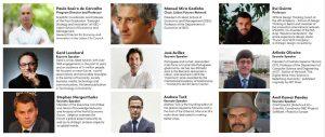 Alguns dos oradores na formação Futures, Strategic Design & Innovation