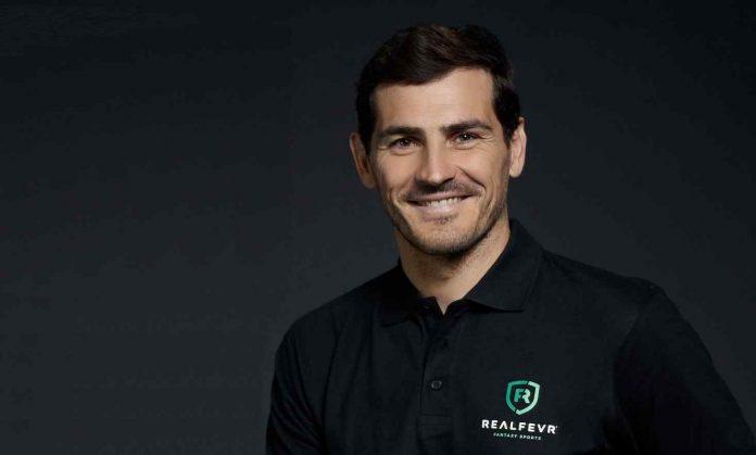A RealFevr apresenta Iker Casillas como embaixador global da sua marca.