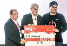 BeON vence primeiro prémio do concurso Vodafone/Ericsson