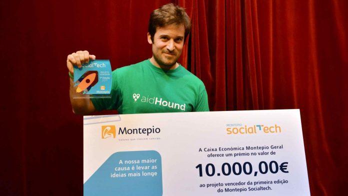 AidHound venceu prémio Montepio Social Tech