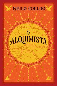 Capa do livro O Alquimista, de Paulo Coelho