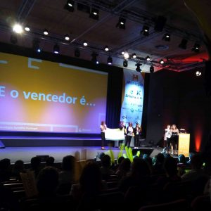 Entrega do prémio do Publico na 8ª Gala Montepio Acredita Portugal