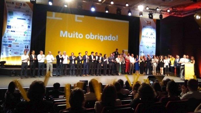 Todas as equipas participantes na 8ª Edição do maior concurso de empreendedorismo subiram ao palco no final da gala
