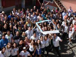 A conferência da makesense, reune voluntários que apoiam o empreendedorismo social