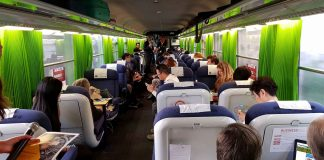 Comboio promove negócios em Portugal e Espanha