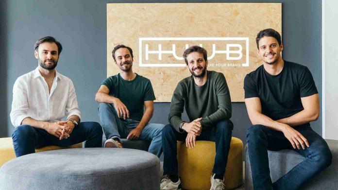 Equipa de fundadores da Huub