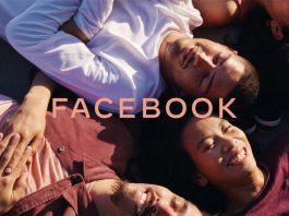 nova imagem da companhia Facebook