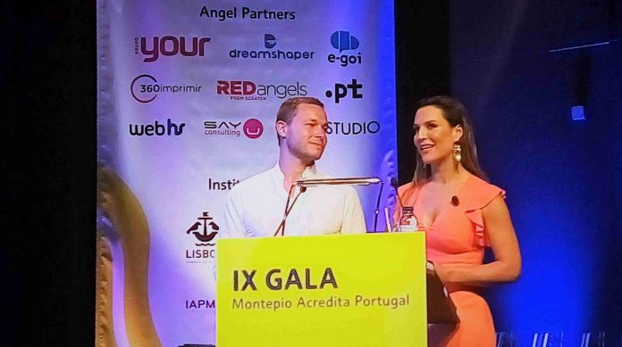 Apresentação dos premiados na IX Gala