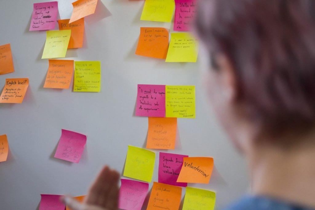 Junte as ideias dispersas