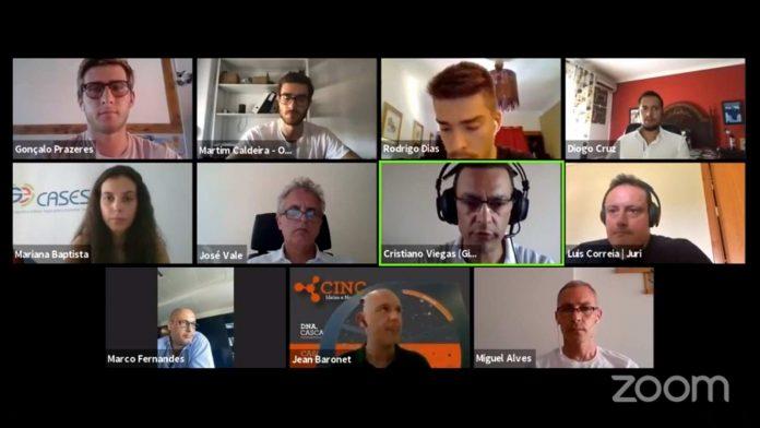 Fotograma da video conferencia