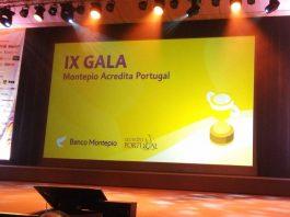 Palco da IX Gala do concurso Montepio Acredita Portugal