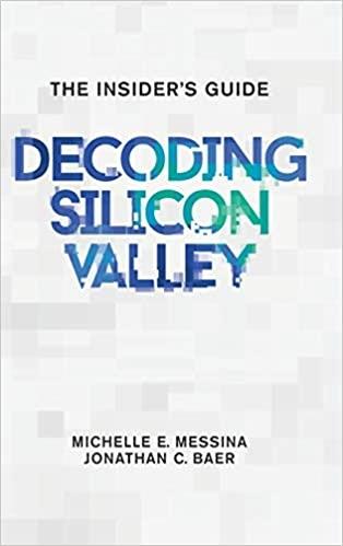 capa do livro Decoding Silicon Valley