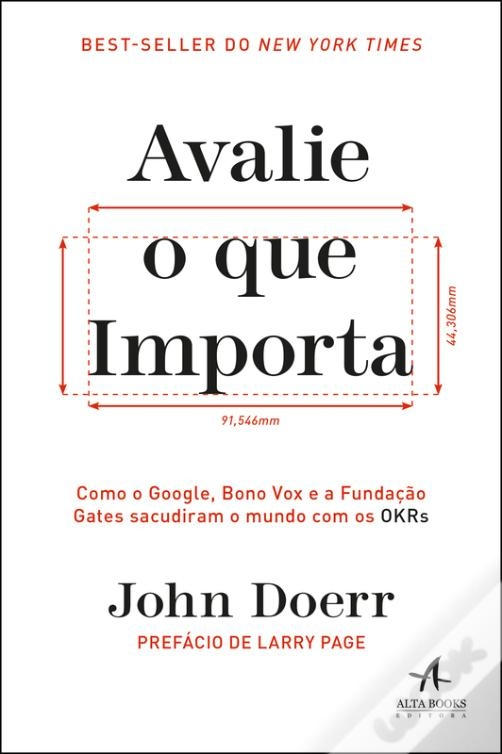 capa do livro Avalie o que importa