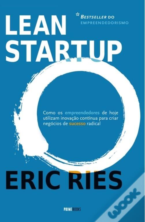 Capa do livro Lean Startup
