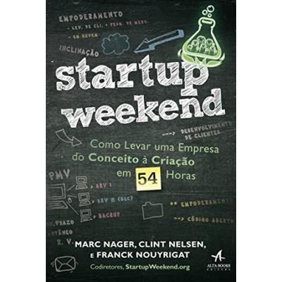 capa do livro Startup Weekend
