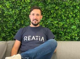 Hugo Venâncio, fundador e CEO da Reatia
