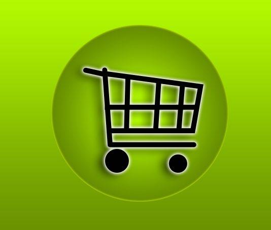 ilustração de carrinho de compras