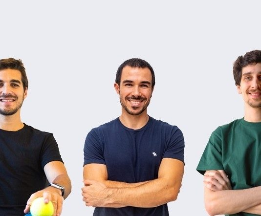 Afonso Coimbra, André Perdigão e Tiago Trindade são os fundadores da Sqill