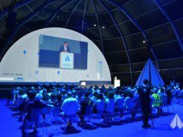 Auditório da conferência Portugal Air Summit durante a edição de 2018.