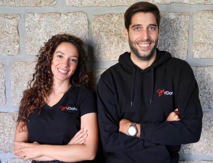 Gonçalo Martins Ribeiro e Fabiana Clemente, fundadores da YData
